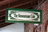 Brownstone Cafe Fullerton